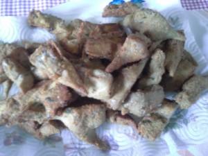 carciofi impanate e fritti