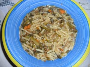 pasta  lenticchie e scarola