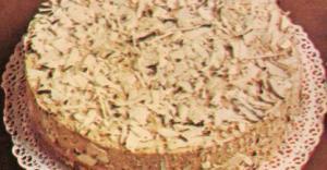 torta alla crema di cioccolato e cocco
