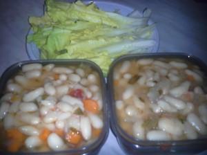 zuppa di cannolicchi e scarola